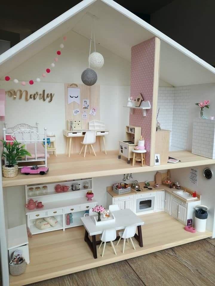 Mooi poppenhuis ♥️ #barbiefurniture