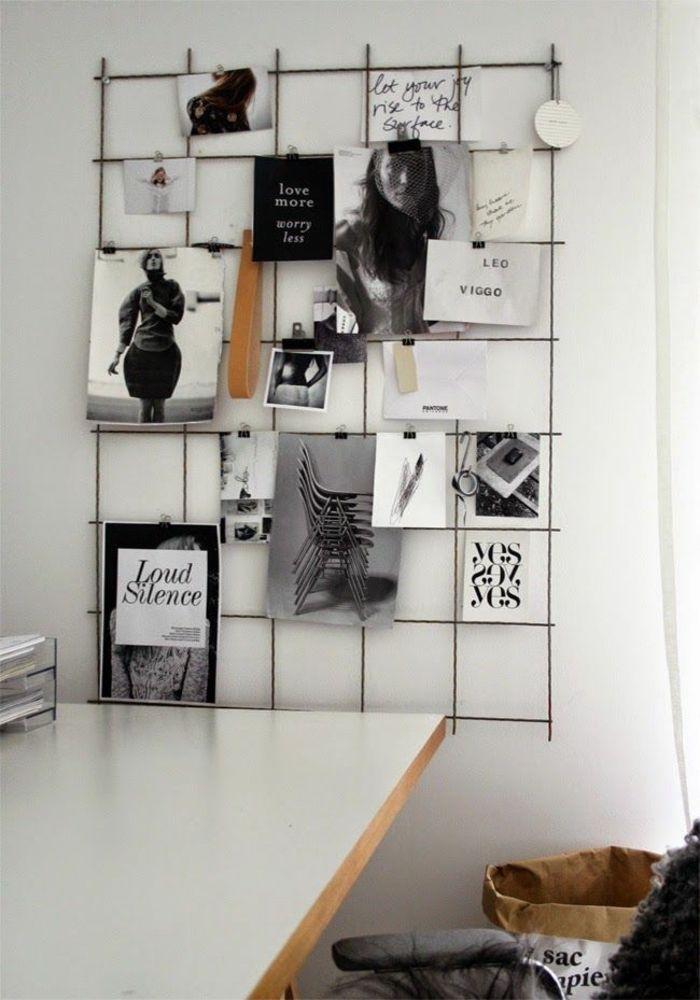 Pinnwand selber machen - einen individuellen Organisationshelfer - wohnung ideen selber machen