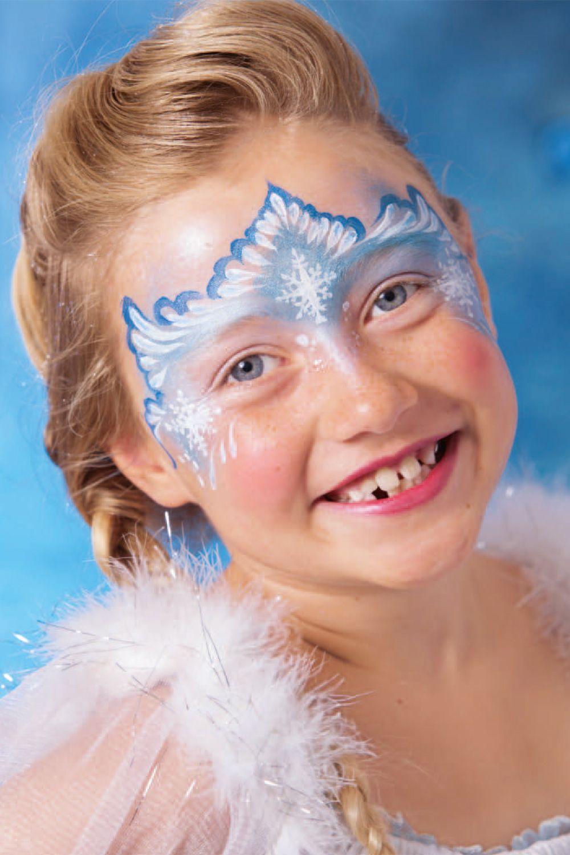 Elsa Schminken Diy In 4 Schritten Zur Eiskonigin Kinder