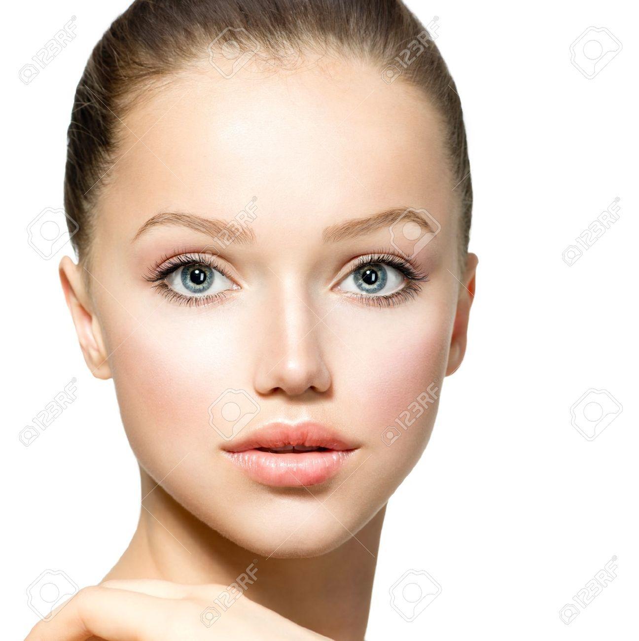 beauty girl face make - photo #2