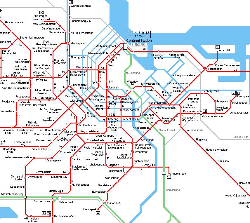Tram Map Amsterdam Amsterdam Tram Map | Travel | Amsterdam, Netherlands, Holland  Tram Map Amsterdam