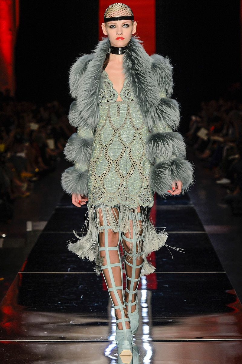 Jean Paul Gaultier Fall 2012 Couture - Review - Collections - Vogue