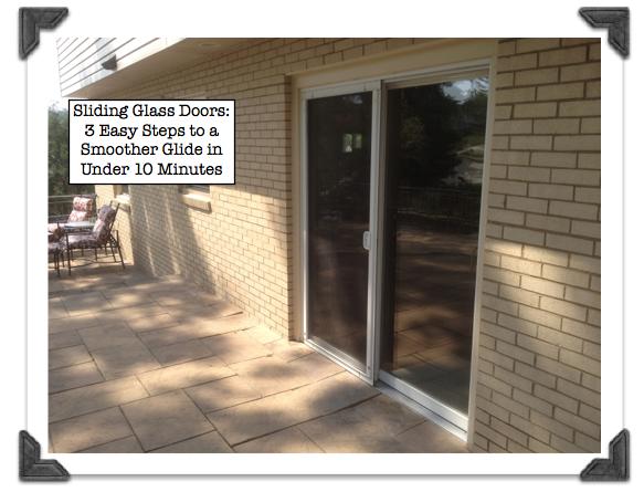 How To Adjust A Sliding Glass Door Sliding Glass Door Repair