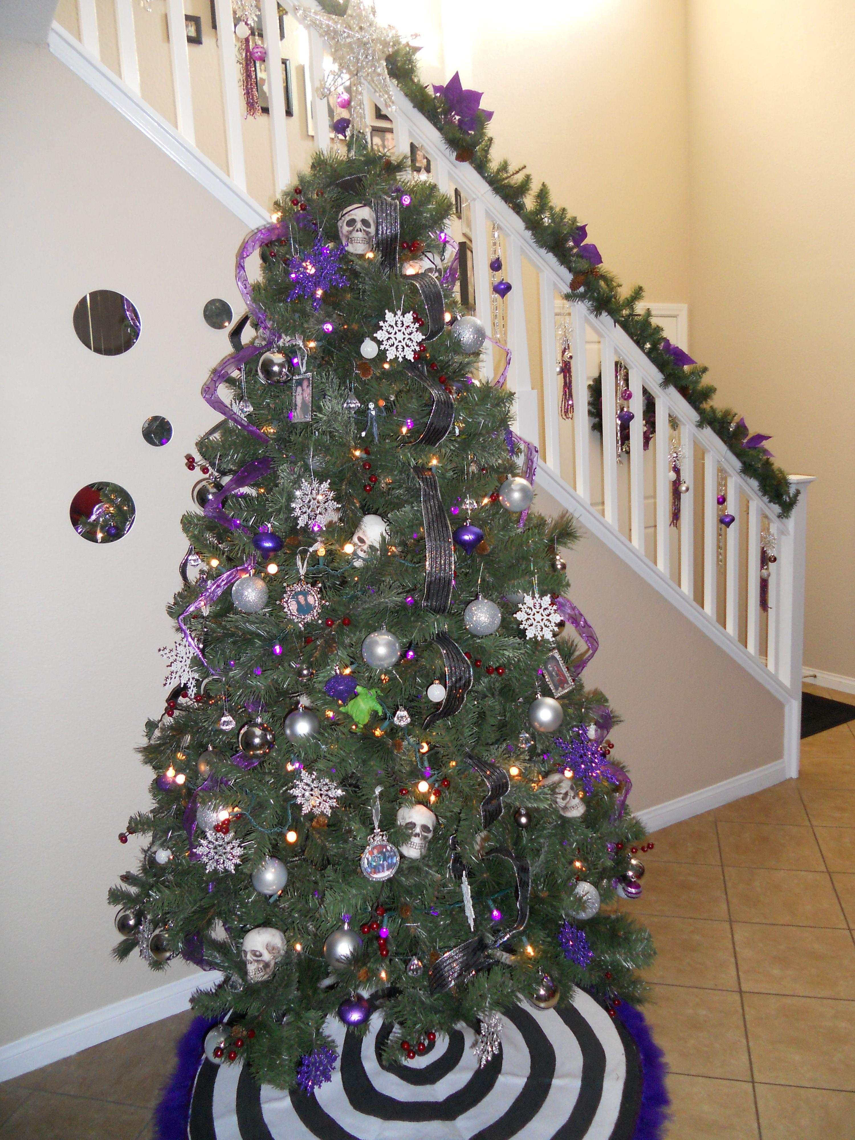 """Nightmare Before Christmas"" Inspired Christmas Tree"
