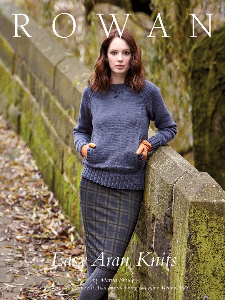 Easy Aran Knits - 13 designs by Martin Storey for both men and women ...