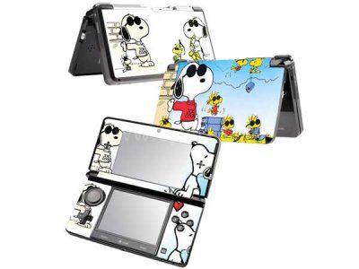 Delightful Autocollant Skin 3DS   Snoopy 3
