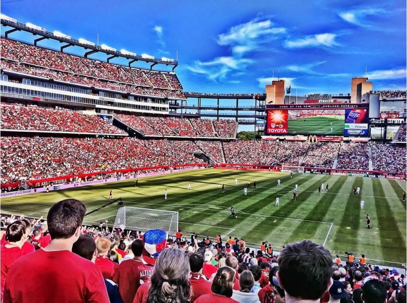 Gillette Stadium / Home of New England Revolution of MLS