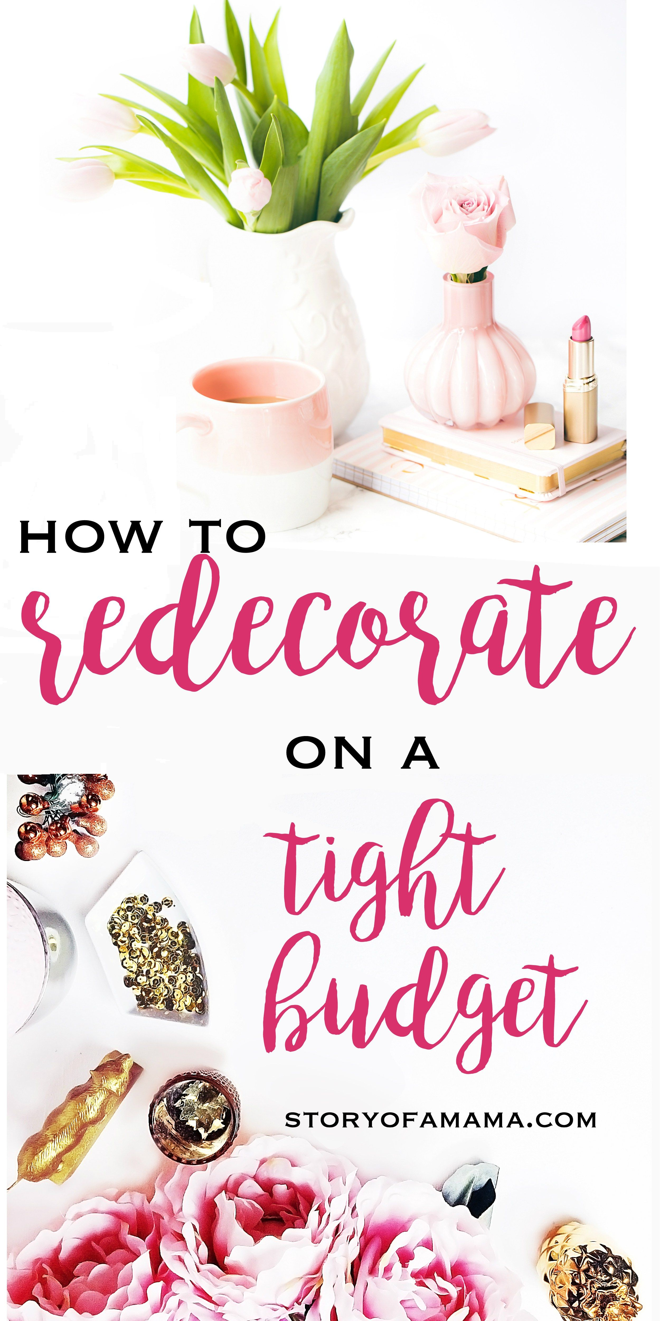 How to Redecorate Your Home on a Tight Budget images