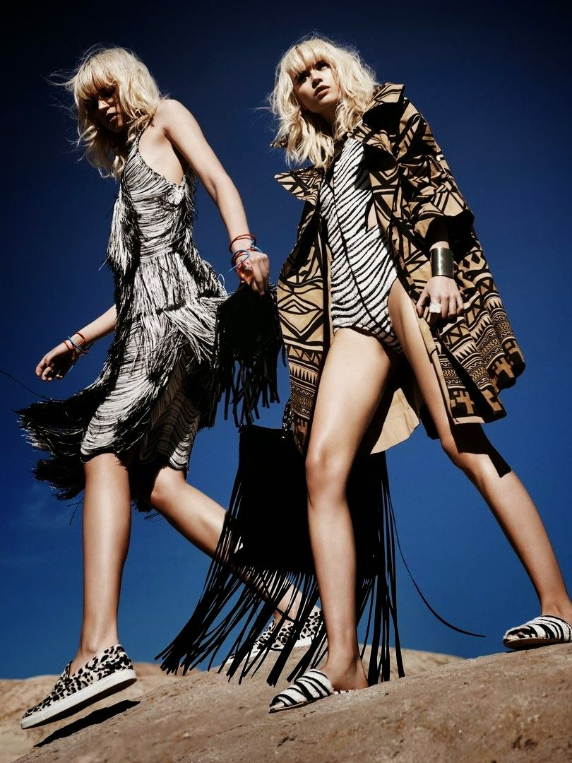 Anabela Belikova by Jan Welters for Marie Claire US March 2014