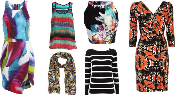 """""""Prints - Cool and Clear"""" by sunet-vermaak on Polyvore"""