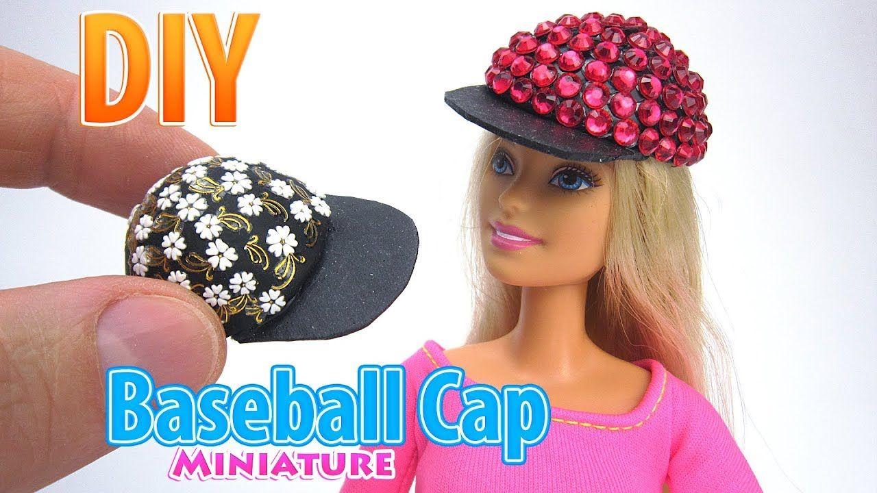 f5d9dafd681fc DIY Gorra de béisbol en miniatura