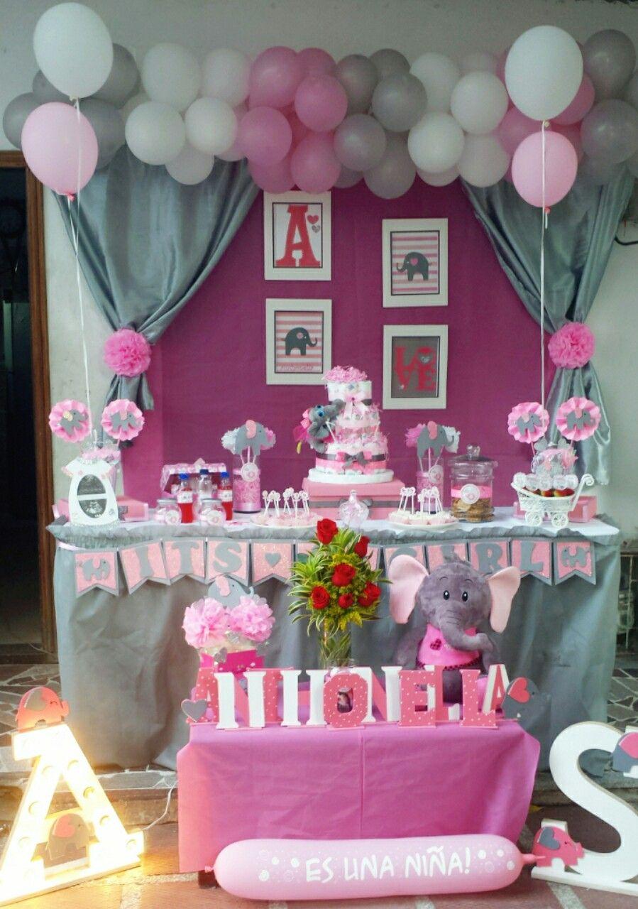 Tematica De Baby Shower Nina.Elephant S Baby Shower Baby Shower Centerpieces Elephant