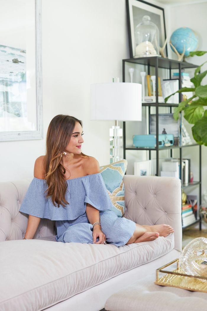 Living Room Makeover With Z Gallerie Fashion Room