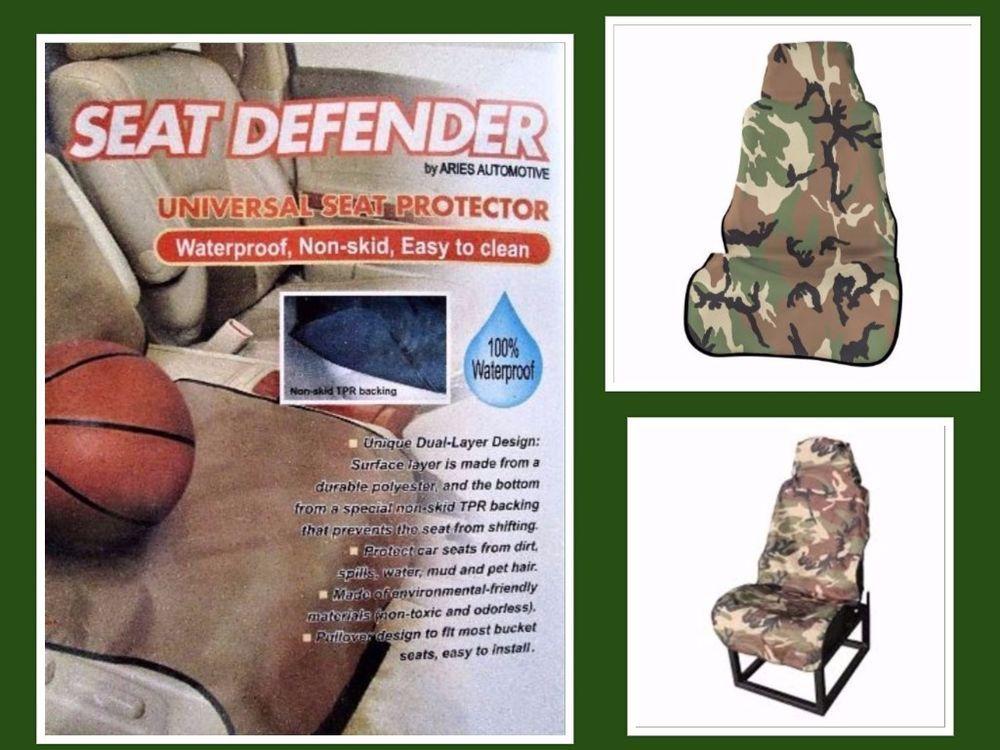 Terrific Auto Car Universal Camouflage Bucket Seat Protector Cover Spiritservingveterans Wood Chair Design Ideas Spiritservingveteransorg