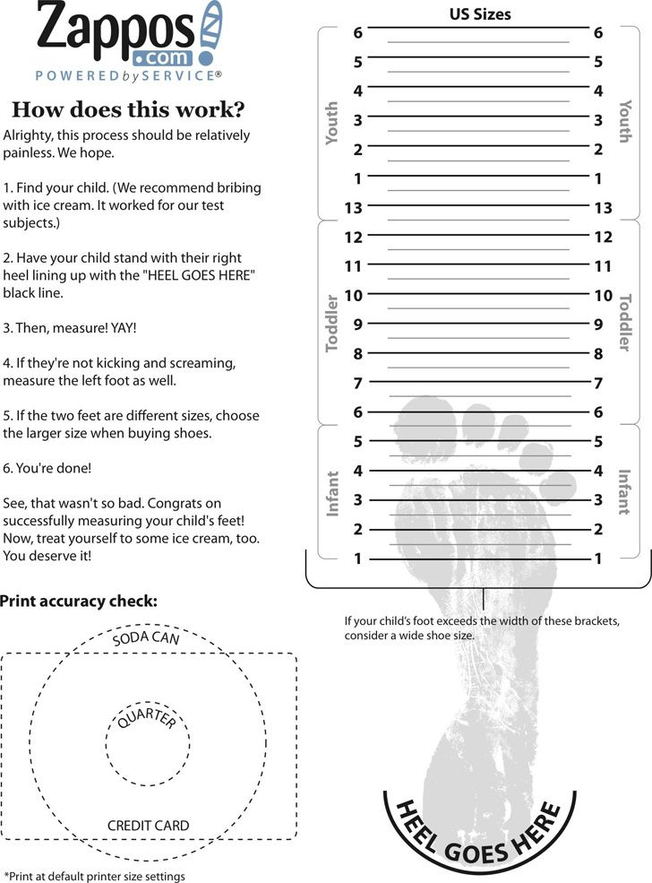 Free Kids Shoe Size Chart Template Shoe Size Chart Kids Baby Shoe Size Chart Toddler Shoe Size Chart