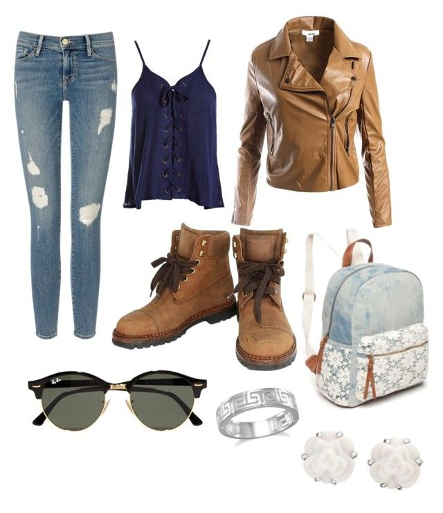 camel shoes polyvore clothing for school 681548