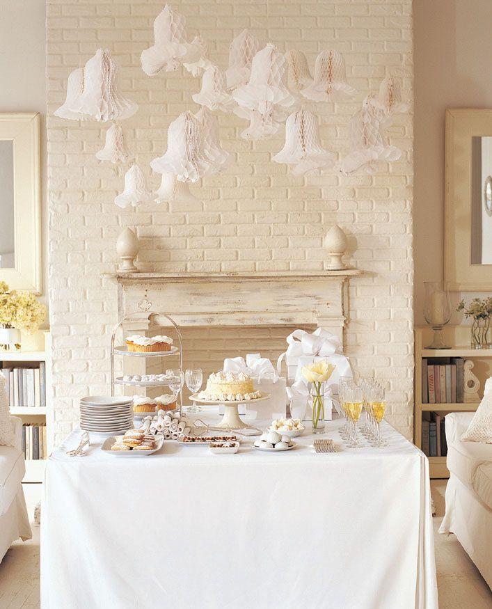 elegant bridal shower traditional shower calls for white linens elegant table settings