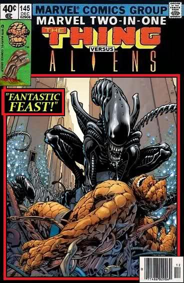 Super-Team Family: The Lost Issues!: aliens