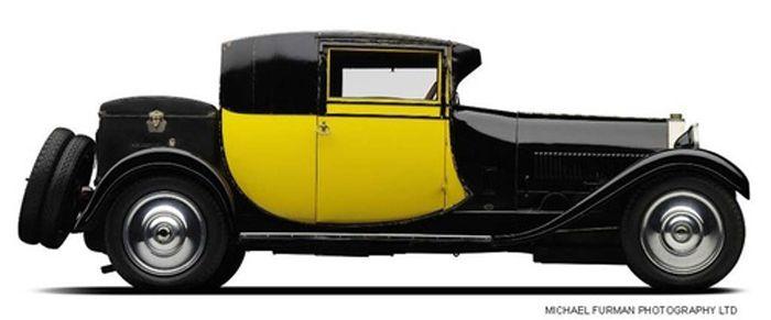 1929 Bugatti Type 44 Coupe Fiacre