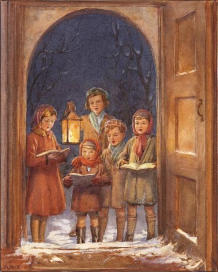 Christmas Garland, 1942 Margaret W