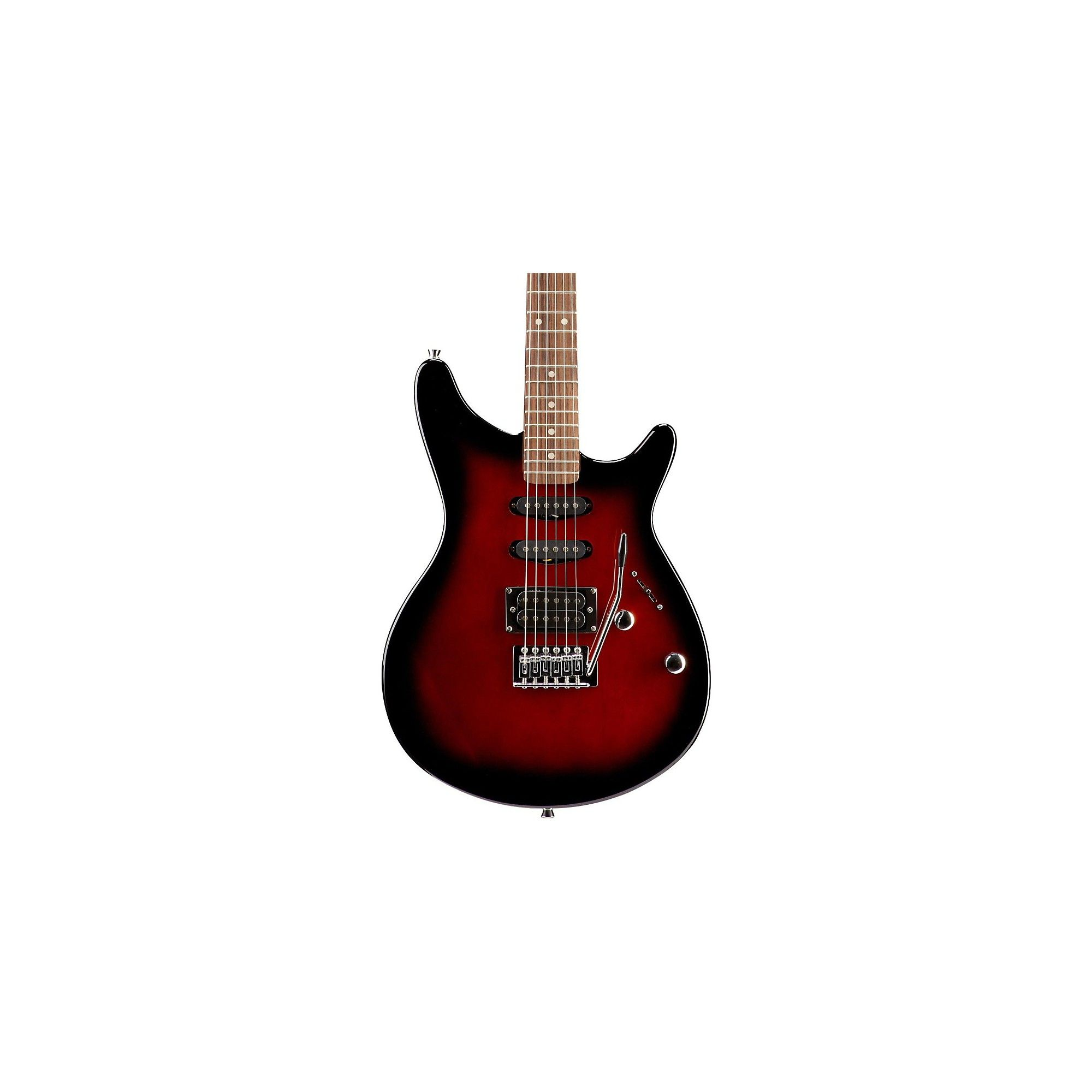 Rogue Rr100 Rocketeer Electric Guitar Red Burst Products Guitar