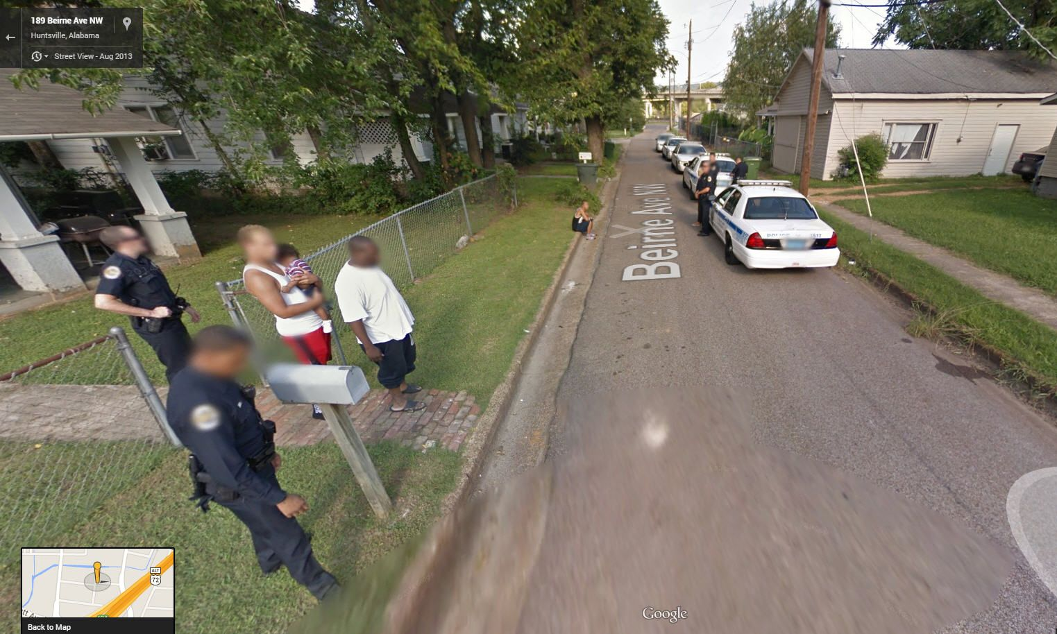 Police Arrest care of Google Street View | Funny and ...