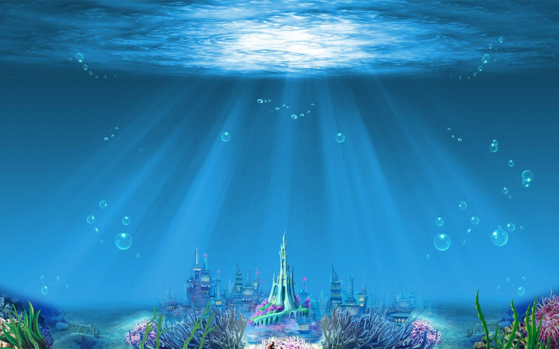 Childrens Mermaid Wallpaper