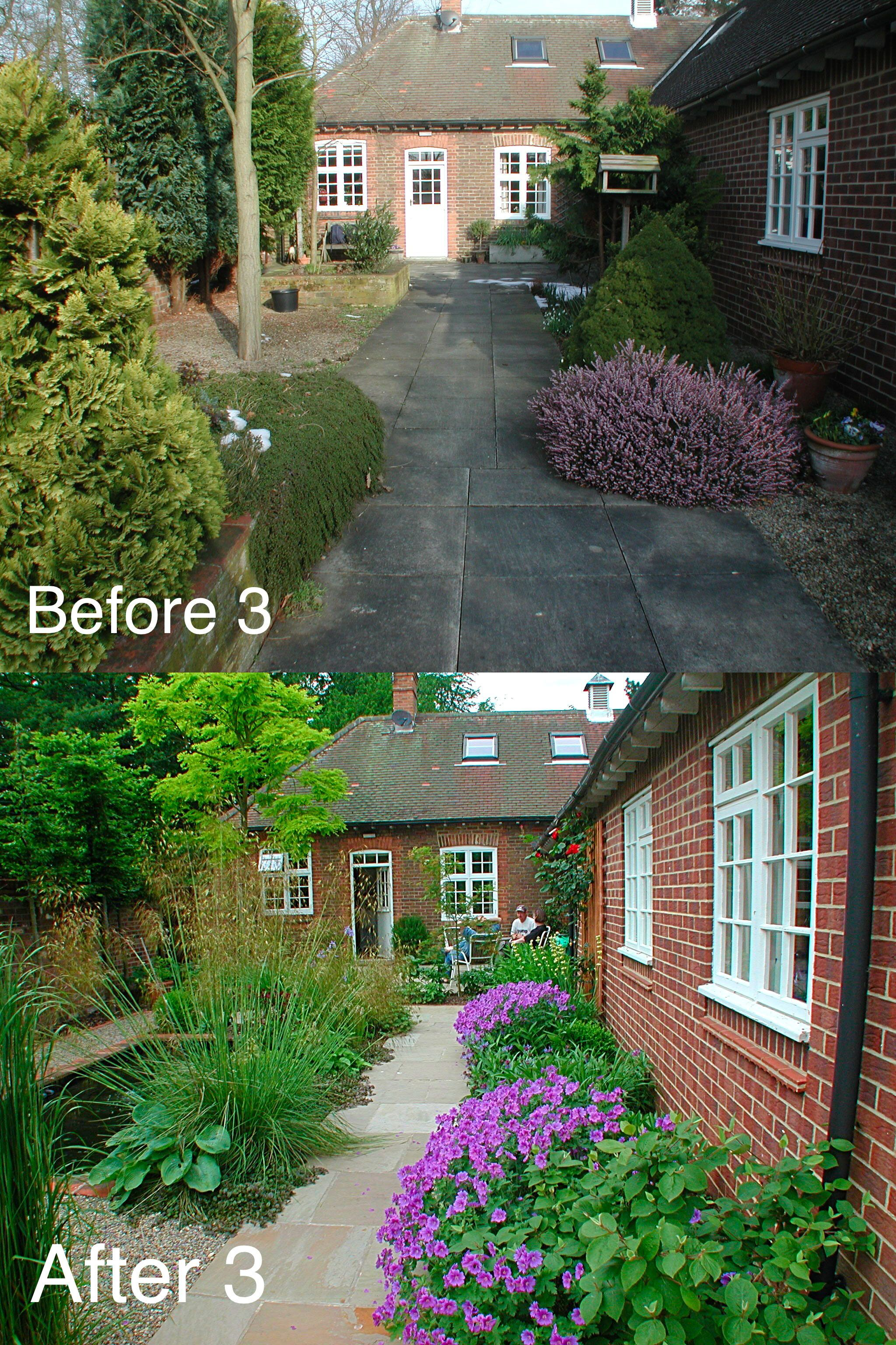 Pin by Sally Tierney on Before & After Yorkshire Garden ...