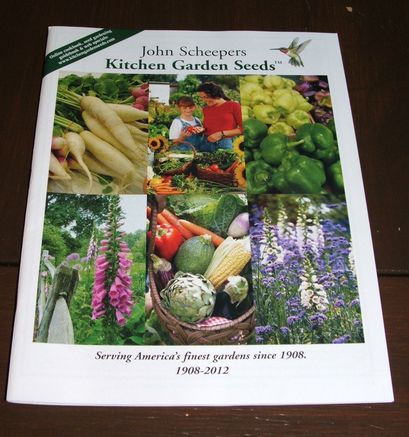 Free Kitchen Catalogs: John Scheepers Kitchen Garden Seeds Catalog