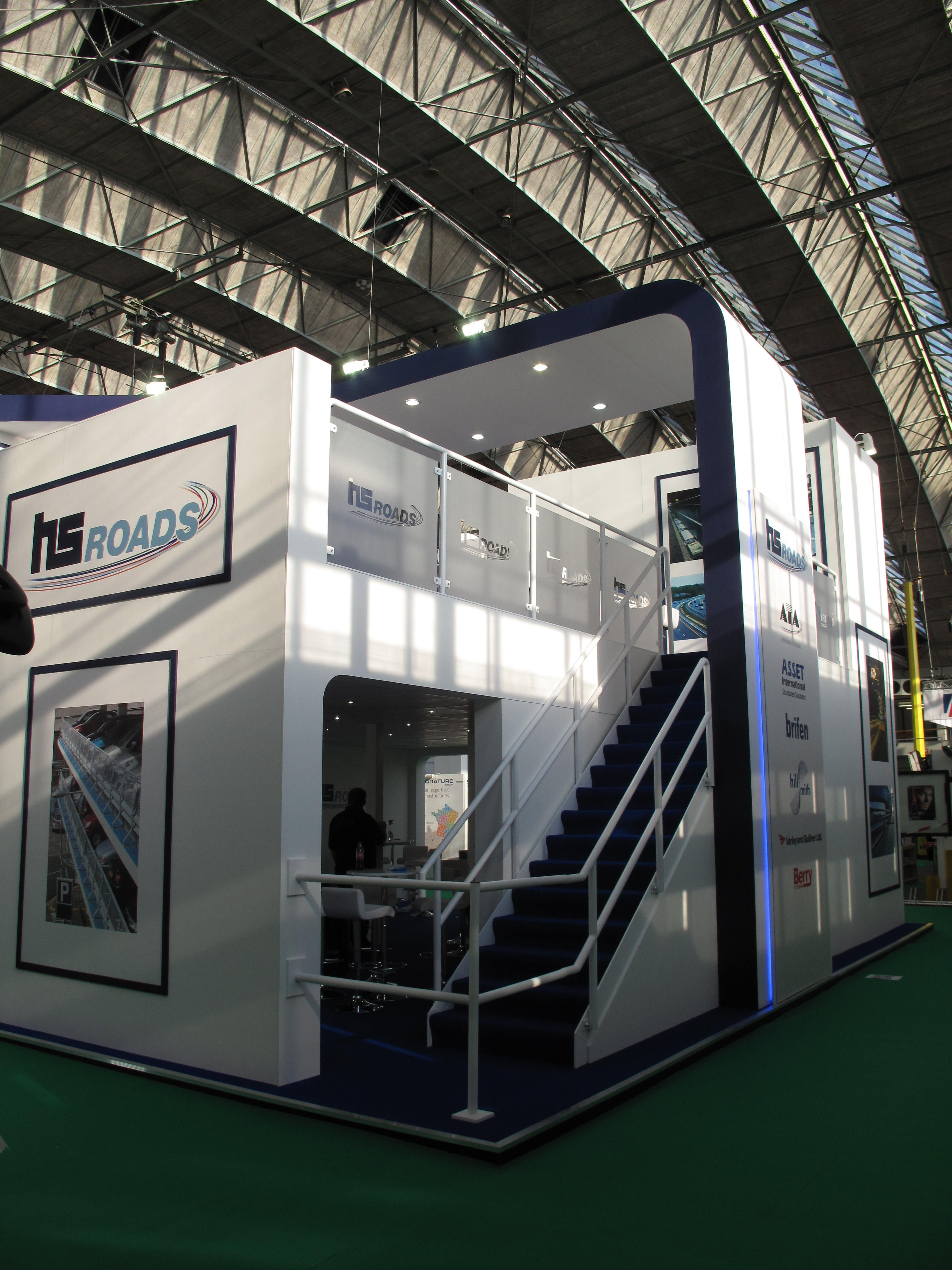 Exhibition Stand Design Amsterdam : Exhibition stand this double deck was designed