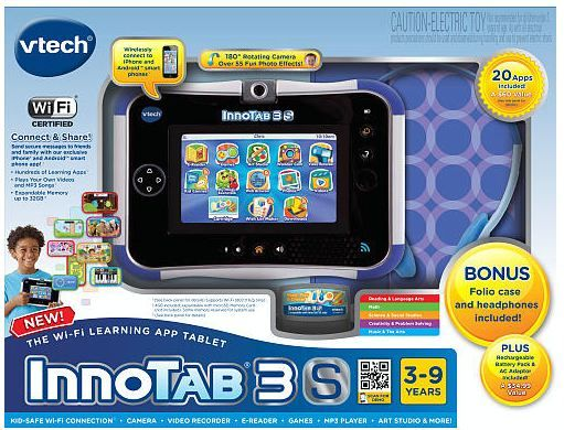 Vtech Innotab3s Review Enter To Win Http Www Thenightowlmama Com 2013 10 Vtech Innotab 3 S Review Html Comment Page 10 Comme Vtech Kids Tech Learning Tablet
