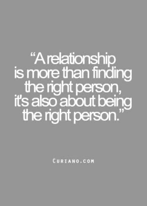 Work On Being The Right Person Not Finding The Right Guy Just Some