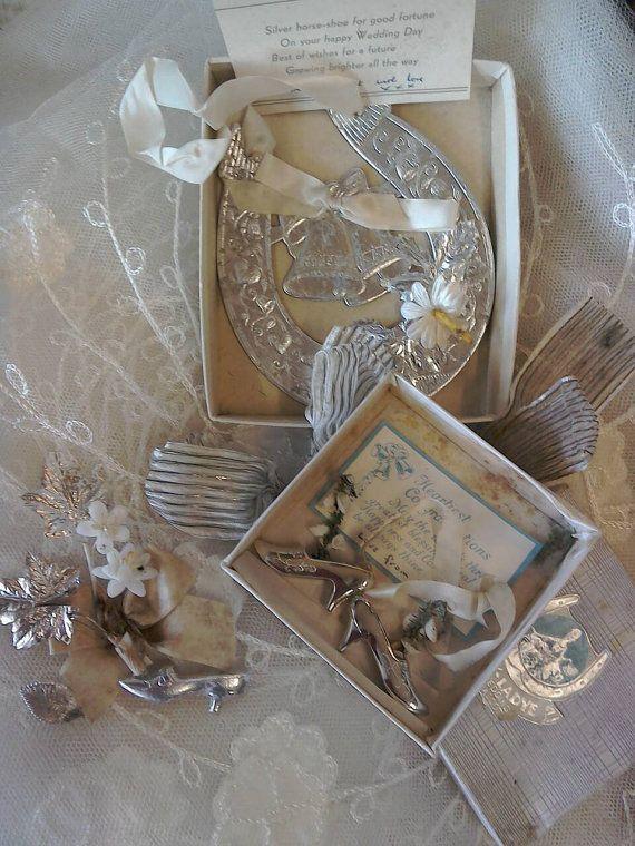 Vintage Wedding Cake Decorations Vintage Lucky Horseshoe Wax