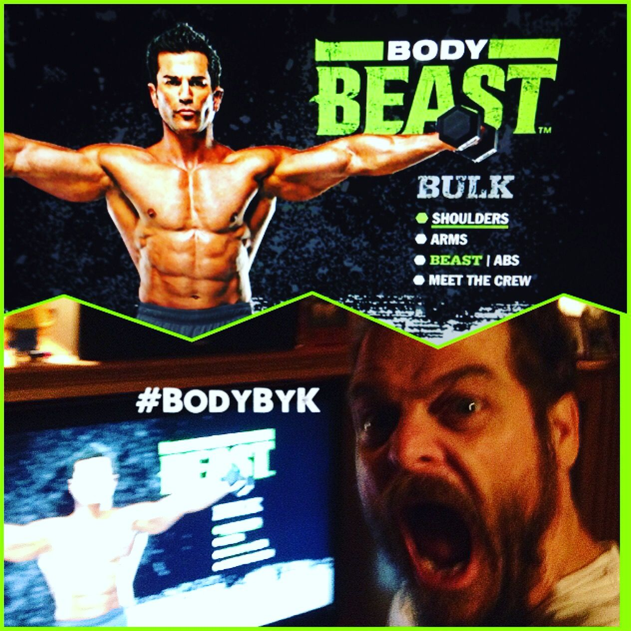 Body Beast Bulk Shoulders For Me Today What Was Is Your