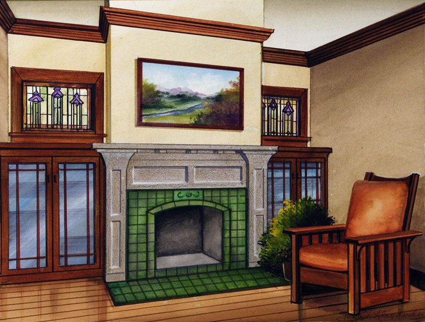 The Re-Imagined American Fireplace