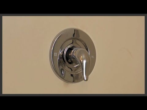 11 Replace Upgrade Your Shower And Bath Handle Youtube Diy