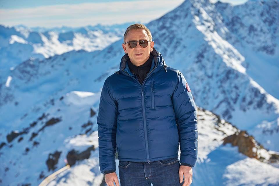 Daniel in the new James Bond Movie Spectre