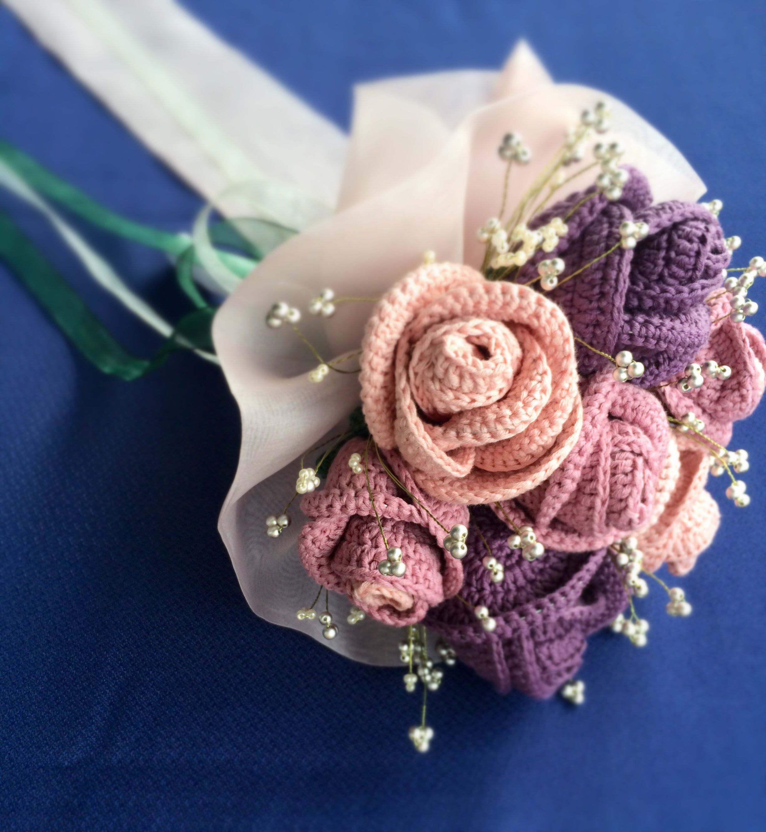 Ramo novia a ganchillo bouquet gets mo pinterest crochet ramo novia a ganchillo izmirmasajfo