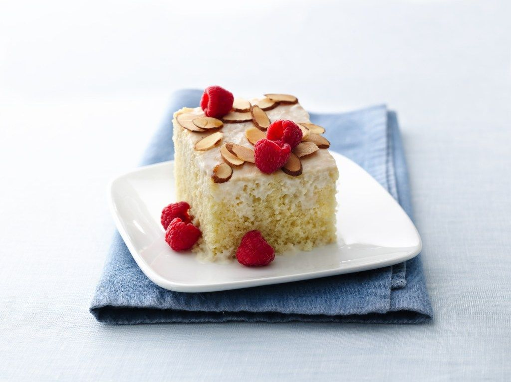 Pastel Tres Leches sin lactosa: receta