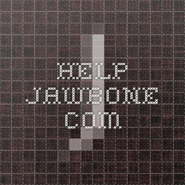 help.jawbone.com