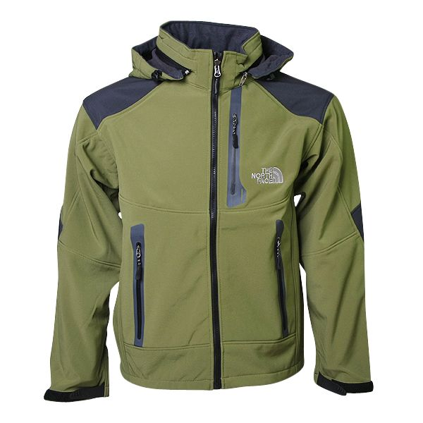 The North Face Goretex Hooded Jacket Men Green