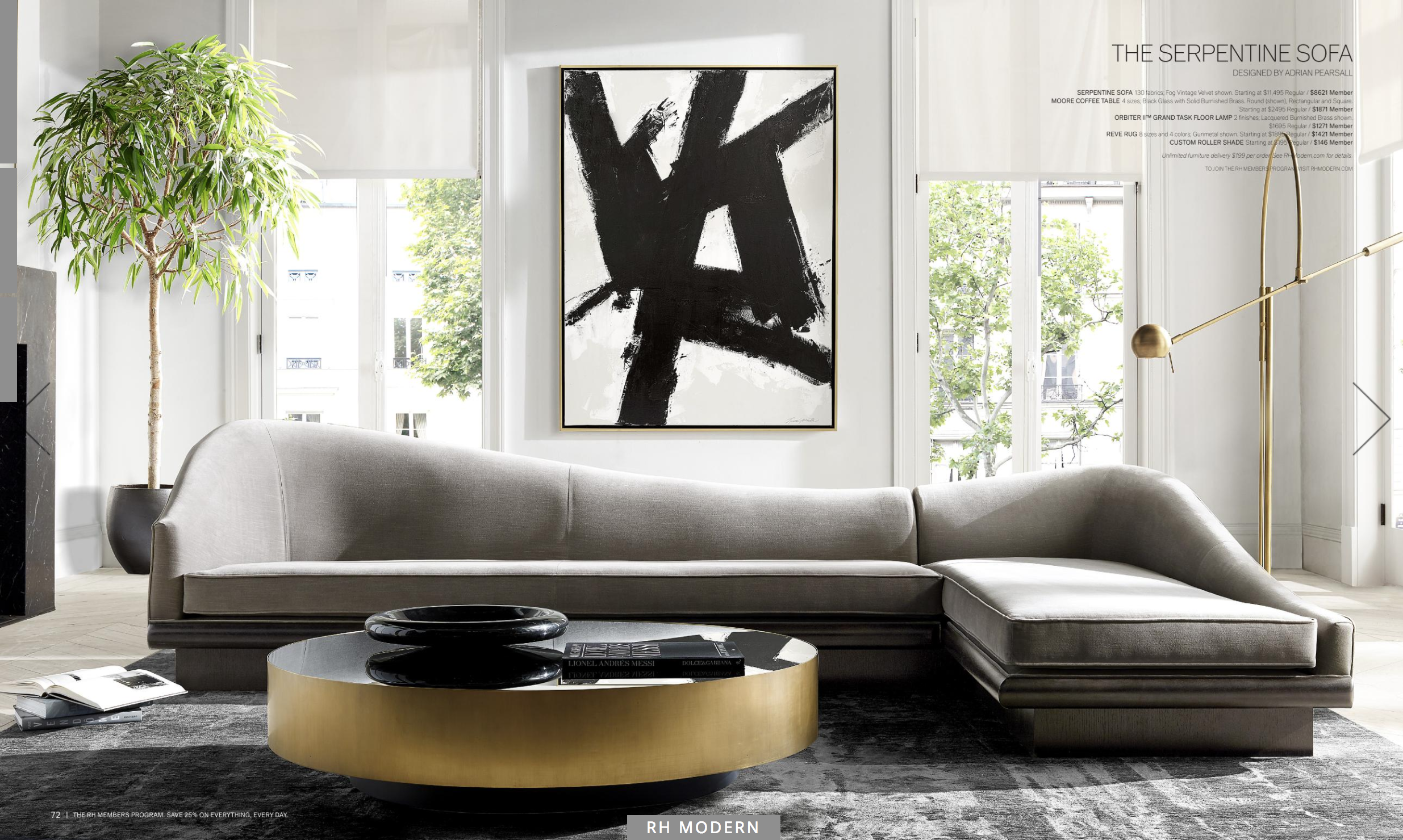 Restoration Hardware Rh Furniture Furniture Luxury Homes [ 1480 x 2470 Pixel ]