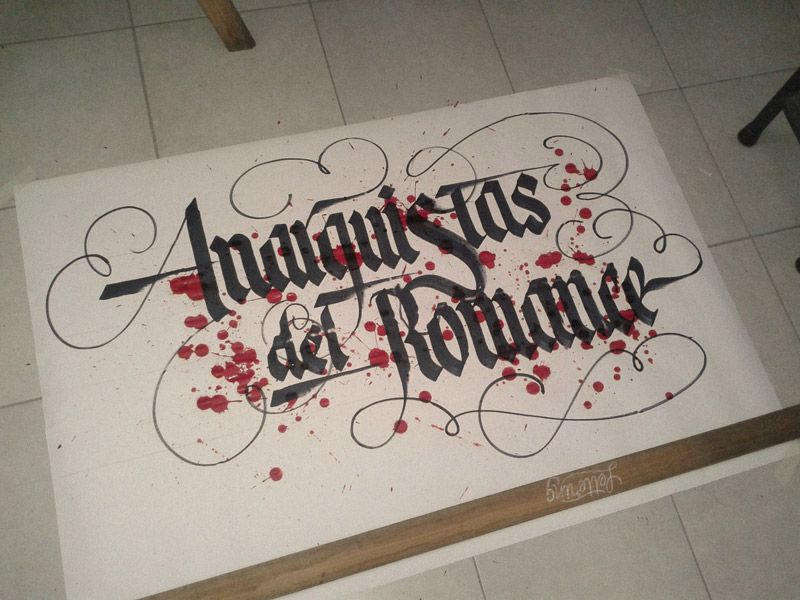 Stunning hand drawn lettering & calligraphy | From up North