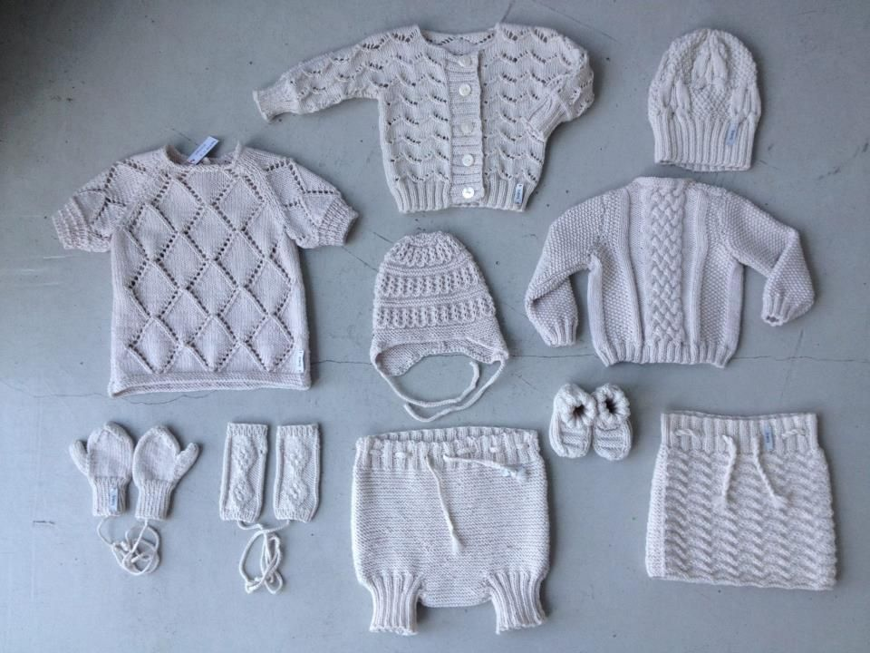...knitted layette for baby...