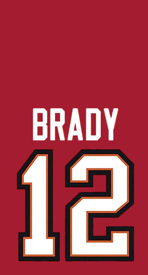 Tom Brady Jersey Wallpaper in 2021 | Tom brady jersey, Tom brady ...