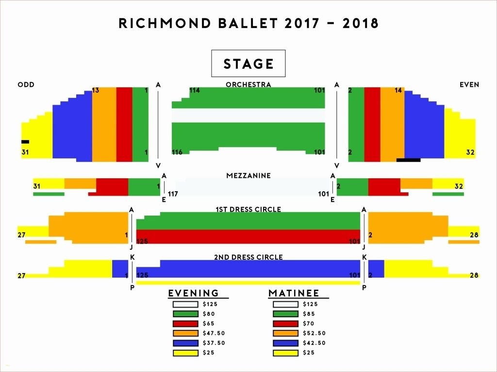 Carpenter Theater Seating Chart Di 2020