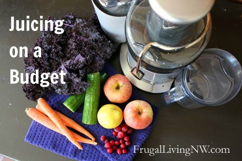 Juicing on a Budget series