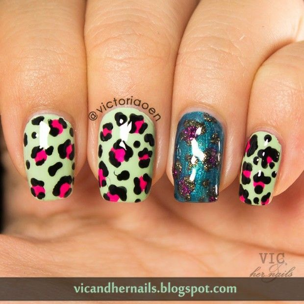 Adorable Animal Print Nail Art Ideas Nail Art Animals Zebra Print