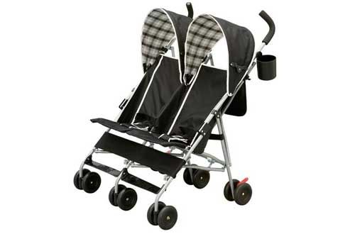 10 Best Lightweight Double Strollers For Infant Toddler Reviews In
