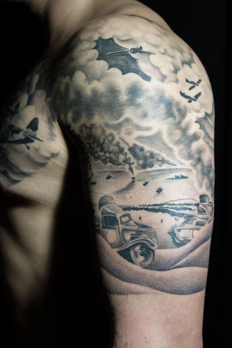 world war 2 tattoo design including after ink photos tattoos pinterest tattoos tattoo. Black Bedroom Furniture Sets. Home Design Ideas